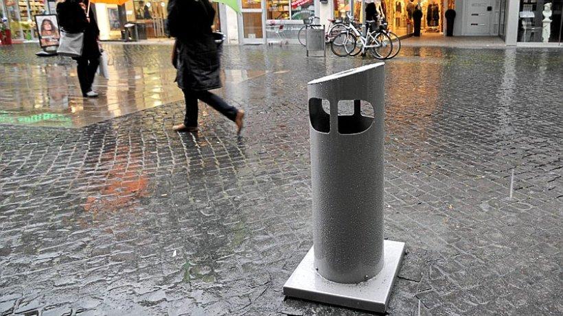 Stadt Stellt Neue M Lleimer Mit Unterirdischem Depot Auf