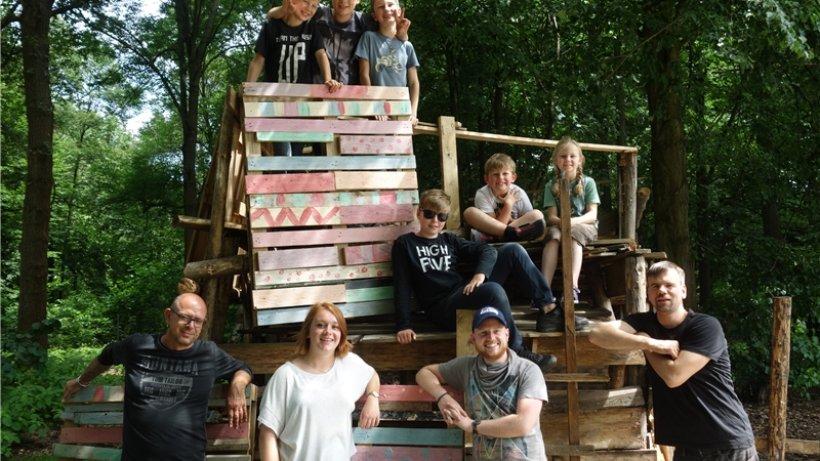 bauspielplatz westhagen kindern gef llt das programm wolfsburg braunschweiger zeitung. Black Bedroom Furniture Sets. Home Design Ideas